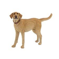 Lifelike Polystone Dog