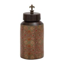 Fascinating Styled Terracotta Painted Jar