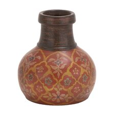The Bright Terracotta Vase