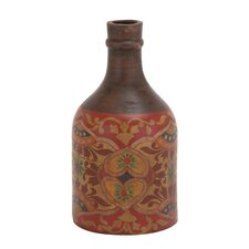 The Royal Terracotta Bottle Vase