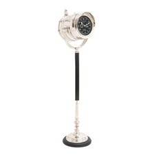 "The Distinctive 41"" Metal Floor Clock"