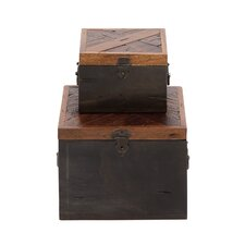 The Simple 2 Piece Wood Box Set