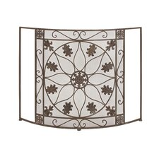1 Panel Metal Fireplace Screen