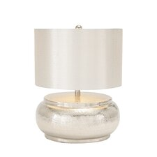 "The Shining 18"" H Table Lamp with Drum Shade"