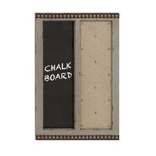 "Classy Styled Wood Memo 2' 4"" x 1' 8"" Chalkboard"