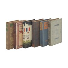 6 Piece Unique and Adorable Book Boxes Set