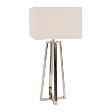 "The Slick 38"" H Table Lamp with Square Shade"