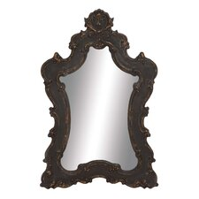 Brooding Wood Wall Mirror