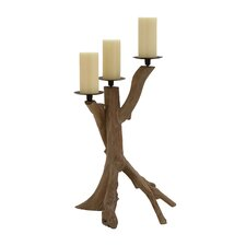 Wood / Metal Candelabra