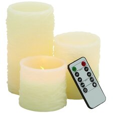 4 Piece LED Flameless Candle Set