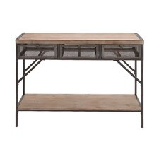 Perfect Wood / Metal Console Table