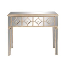 Dashing Wood / Mirror Console Table