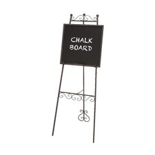The Beautiful Metal Chalk Board Easel