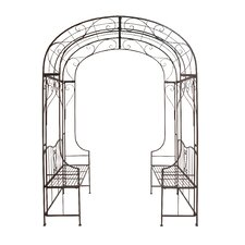 The Cool Metal Arch Entryway Bench