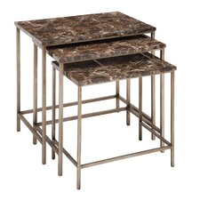 3 Piece Nesting Tables Set