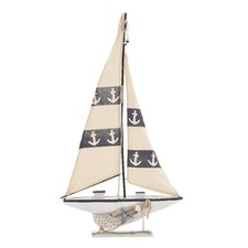 Contemporary Creative Wood Sail Boat