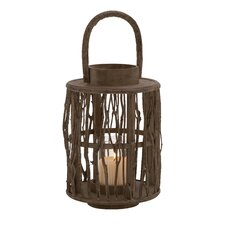 Attractive Wood Glass Lantern