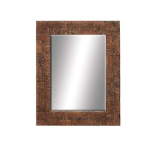 Grand Wood Wall Mirror