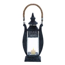 Attractive Contemporary Styled Metal Lantern