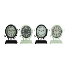 Yangtze's 4 Piece Smart Metal Desk Clock Set