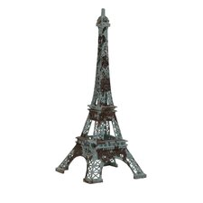 Metal Eiffel Tower Sculpture