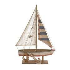 The Amazing Wood Rope Sailing Boat
