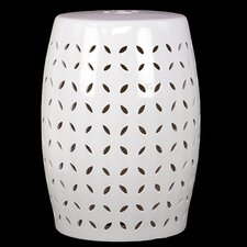 Drum Ceramic Garden Stool