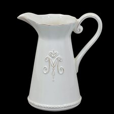 Elegant and Stunning Ceramic Pitcher