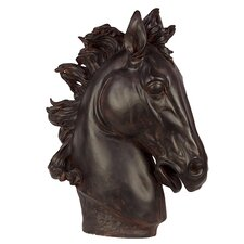 Majestic and Magnificent Resin Horse Head Bust