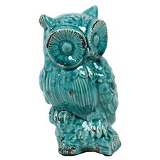 Adorable Owl Antique Figurine