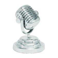 Casual Microphone Statue