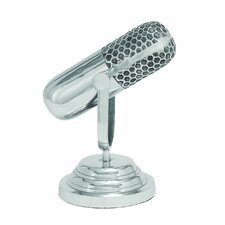Trophy Microphone Sculpture