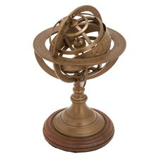Aluminum Armillary Nautical Maritime Ornament