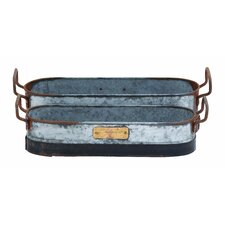Galvn Metal Planter (Set of 2)