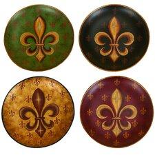 Decorative Ceramic Plate (Set of 4)