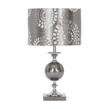 Designers Metal Glass Table Lamp
