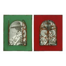2 Piece Balcony Window Picture Frame