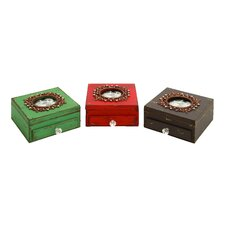 Picture Frame Jewelry Box (Set of 3)