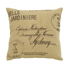 Paris Postcard Pillow