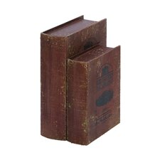 <strong>Woodland Imports</strong> Wine Vineyard Book Boxes (Set of 2)