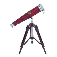 Free Standing Decorative Telescope
