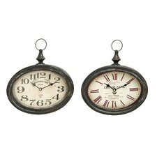 Wall Clock (Set of 2) (Set of 2)