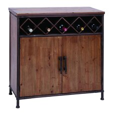 5 Bottle Wine Cabinet