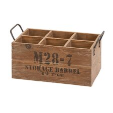 6 Bottle Tabletop Wine Box