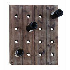 16 Bottle Hanging Wine Rack