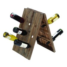 <strong>Woodland Imports</strong> Rustic 18 Bottle Wine Rack