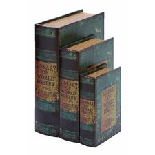 Library Of World Poetry Book Box (Set of 3)
