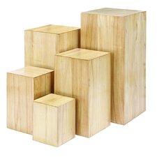 Pedestal Plant Stand (Set of 5)
