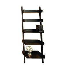"Leaning Ladder 76"" Bookcase"