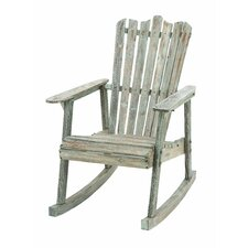 <strong>Woodland Imports</strong> Rocking Chair